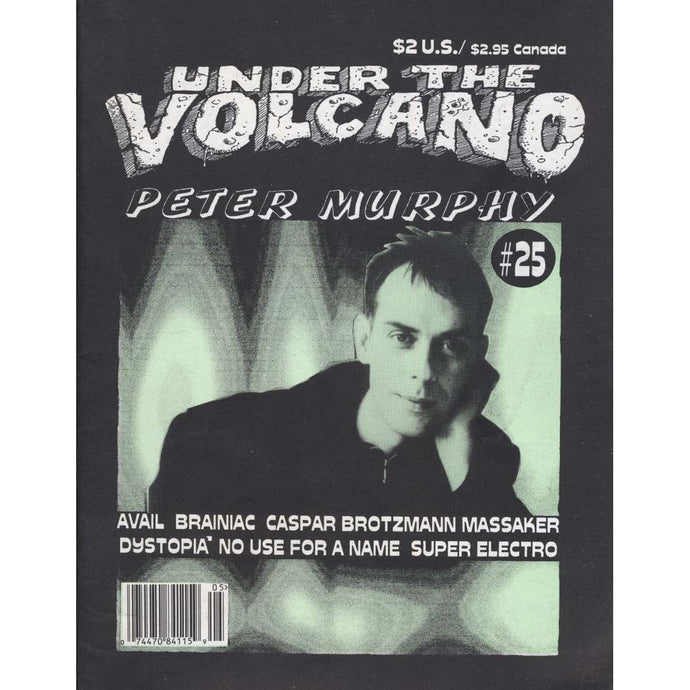 Under the Volcano Magazine Issue 25 (Peter Murphy)