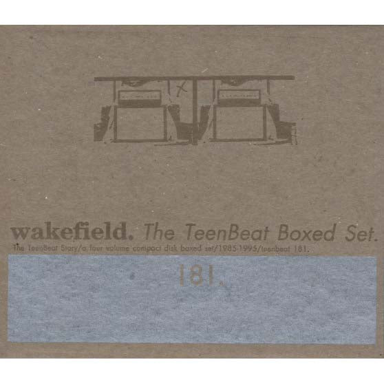 Various - Wakefield. The TeenBeat Boxed Set (Teenbeat 181)