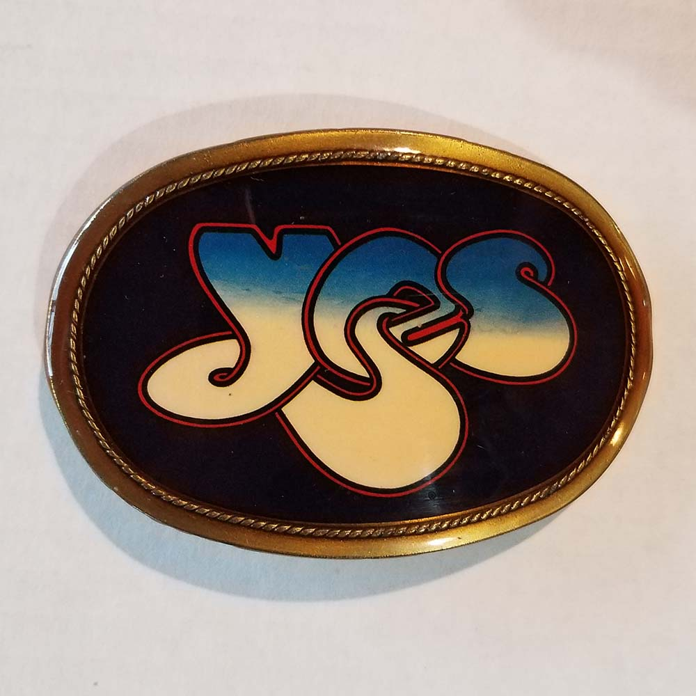 Yes - Belt Buckle (1977, Pacifica Mfg)