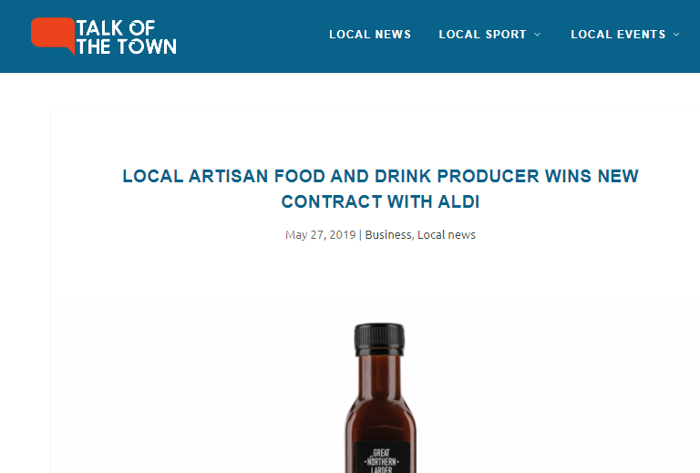 Grow with Aldi - Talk of the Town