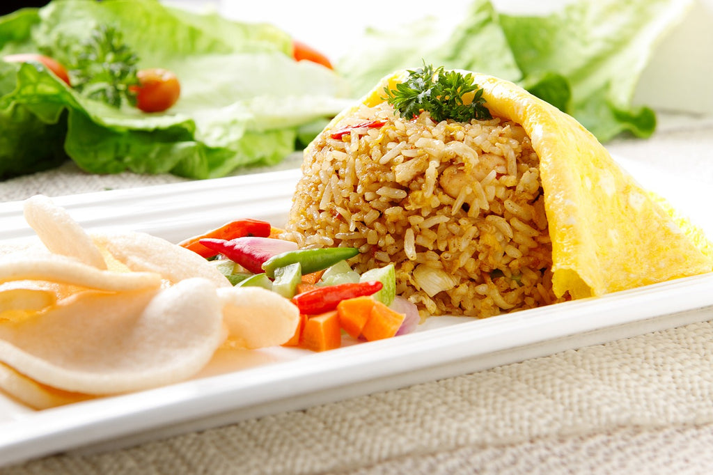 Chilli and Coconut Fried Rice (Nasi Goreng)