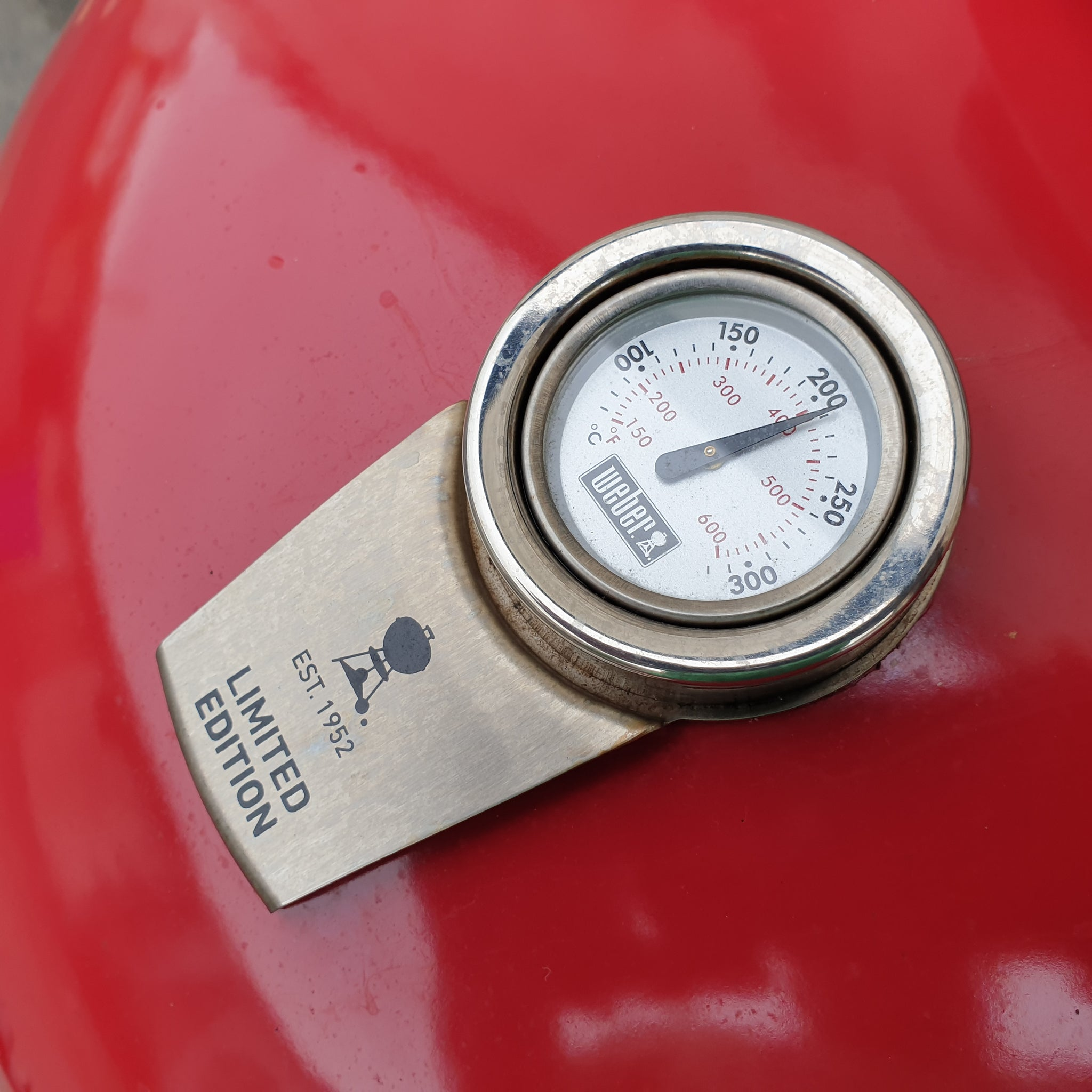 Weber Kettle Temp Gauge