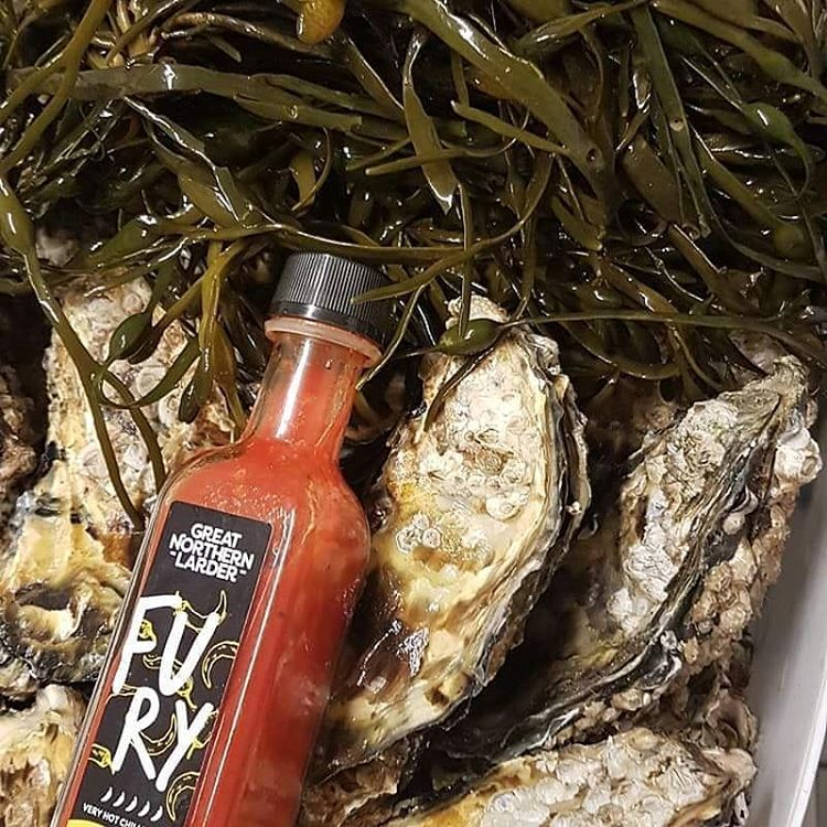 Hot Chilli Sauce Oysters