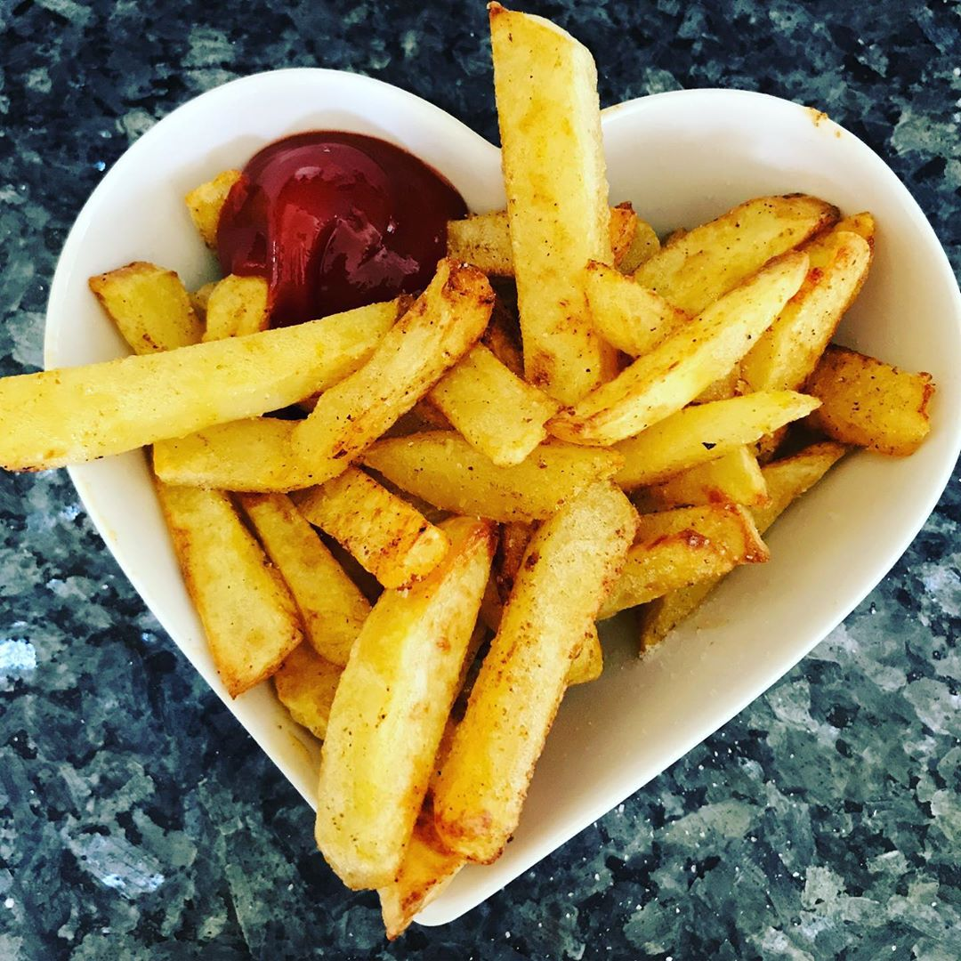 Tomato Ketchup on Slimming World Chips