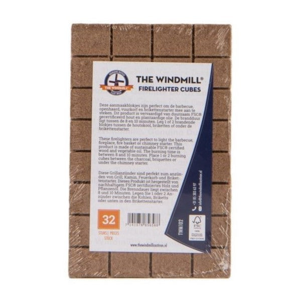 The Windmill Firelighter Cubes