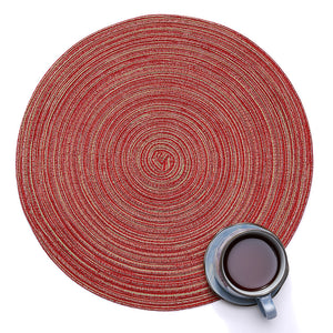 Round Artisan Antislip Placemat by Room Service Home