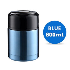 Large Capacity 600ML/800ML/1000ML Thermos Lunch Box Portable Stainless Steel Food Soup Containers Vacuum Flasks Thermocup