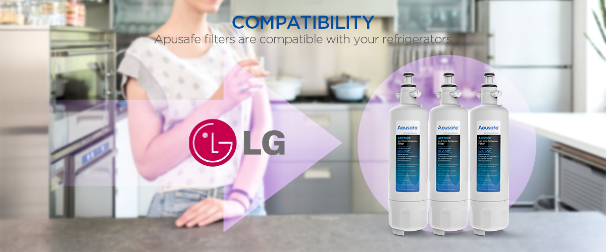 LG LT700P Refrigerator Ice Water Filter Kenmore 469690 APF700P Fridge Cartridge