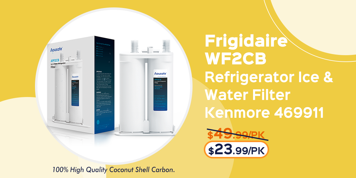 Frigidaire Pure Source 3 WF3CB Refrigerator Water Filter Fridge Cartridge Replacement APF3CB