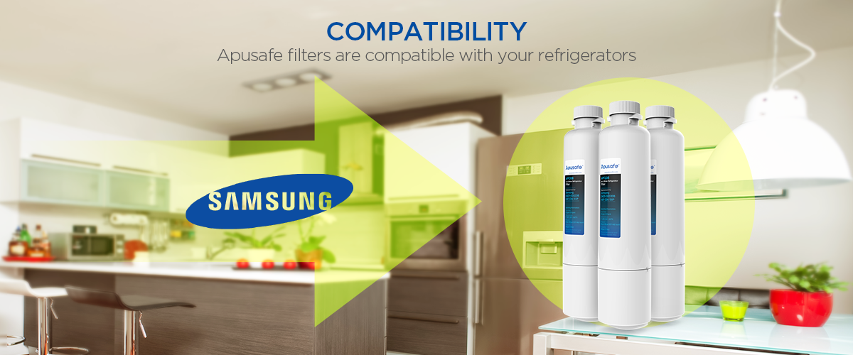Samsung AquaPure Plus DA29-00020B Refrigerator Water Filter HAF-CIN/EXP Fridge Cartridge Replacement APF20B