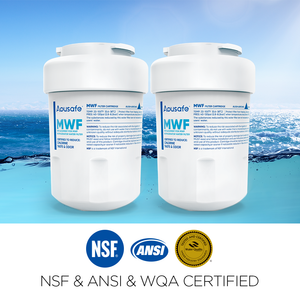 MWF GE SmartWater GWF Refrigerator Ice Water Filter GWFA MWFP MWFA APFMWF Fridge Cartridge