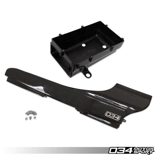 034Motorsport Carbon Fibre Lower Intake Box + Air Duct - TTRS 8S/RS3 8V Daza