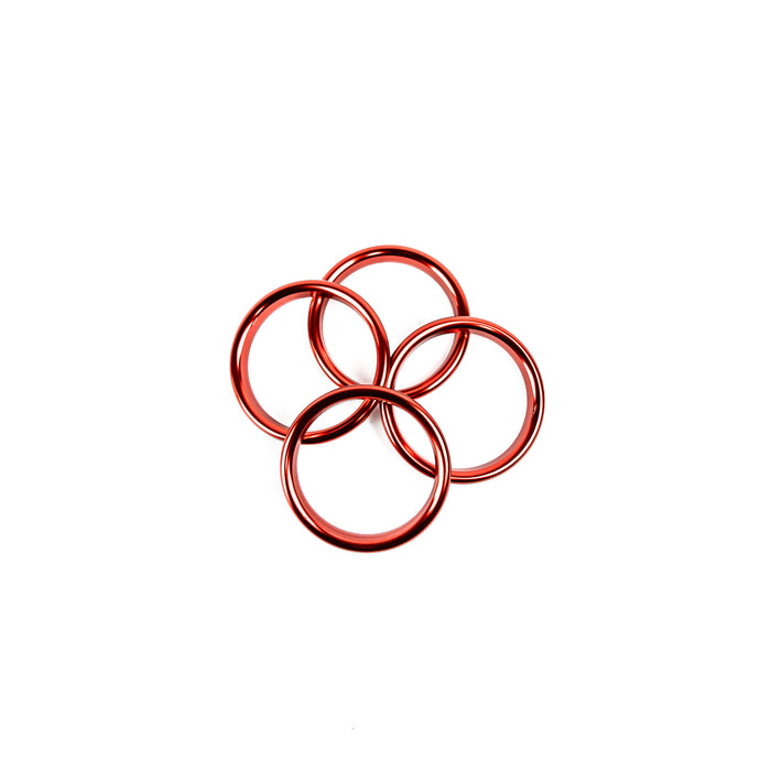 Audi A3/S3/RS3 8V Aluminum AC Vent Rings (Set of 4)