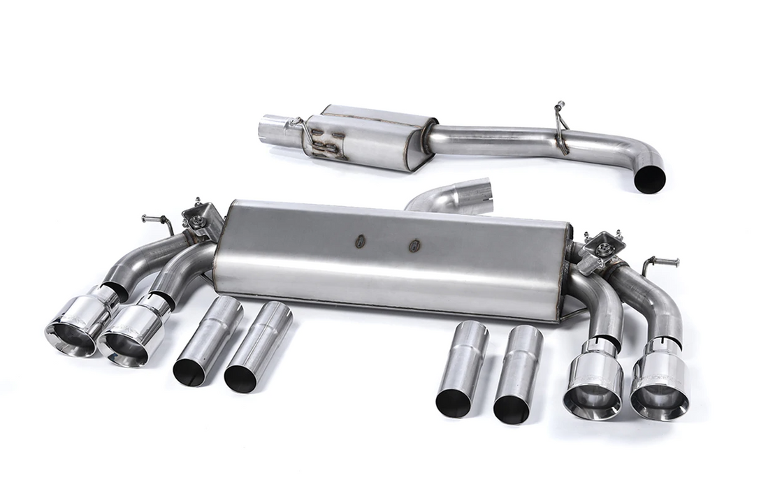 Milltek Cat-back - GPF Back Performance Exhaust - S3 - 2.0 TFSI quattro Saloon & Cabrio 8V.2 (GPF Equipped Models Only) - 2019 - 2021