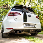 VW Golf R MK7 Rear Carbon Fibre Diffuser