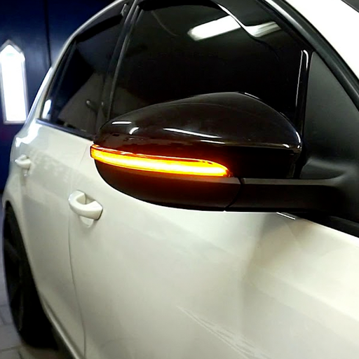 VW Golf MK6 Dynamic Mirror Indicators