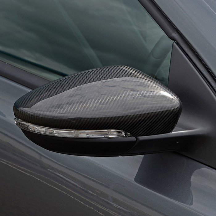 VW Golf MK6 Carbon Fibre Mirror Covers