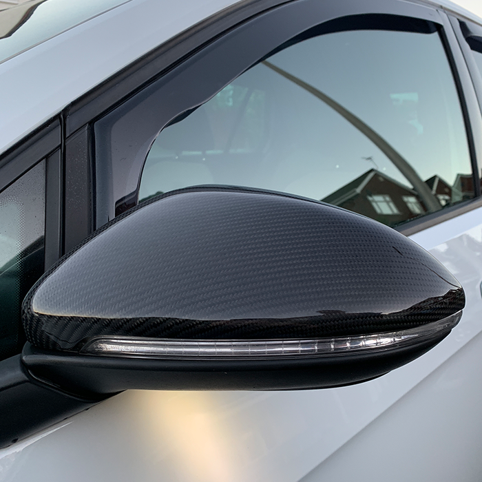 VW Golf MK7 Carbon Fibre Mirror Covers