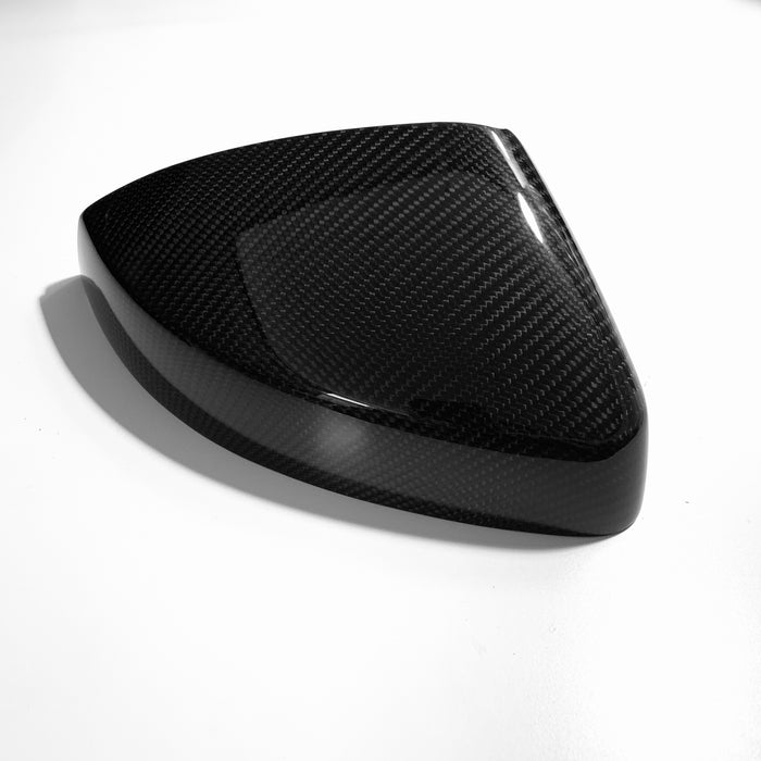 Audi A3/S3/RS3 8V Carbon Mirror Covers (WEAVE)