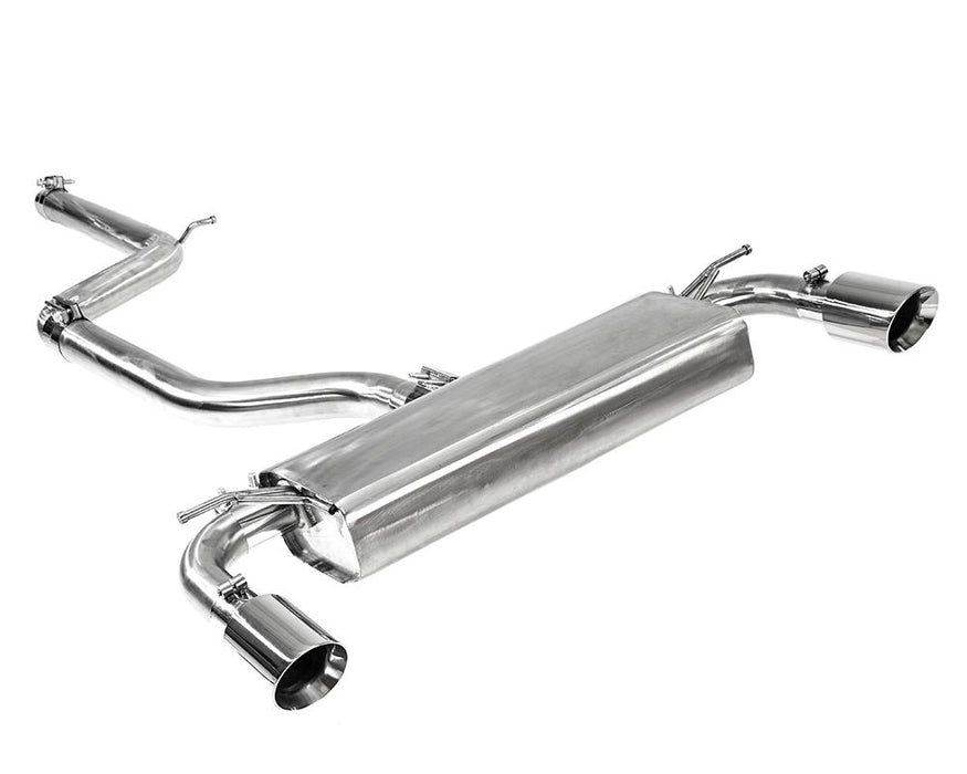 INTEGRATED ENGINEERING VW MK7 GOLF GTI CATBACK EXHAUST SYSTEM
