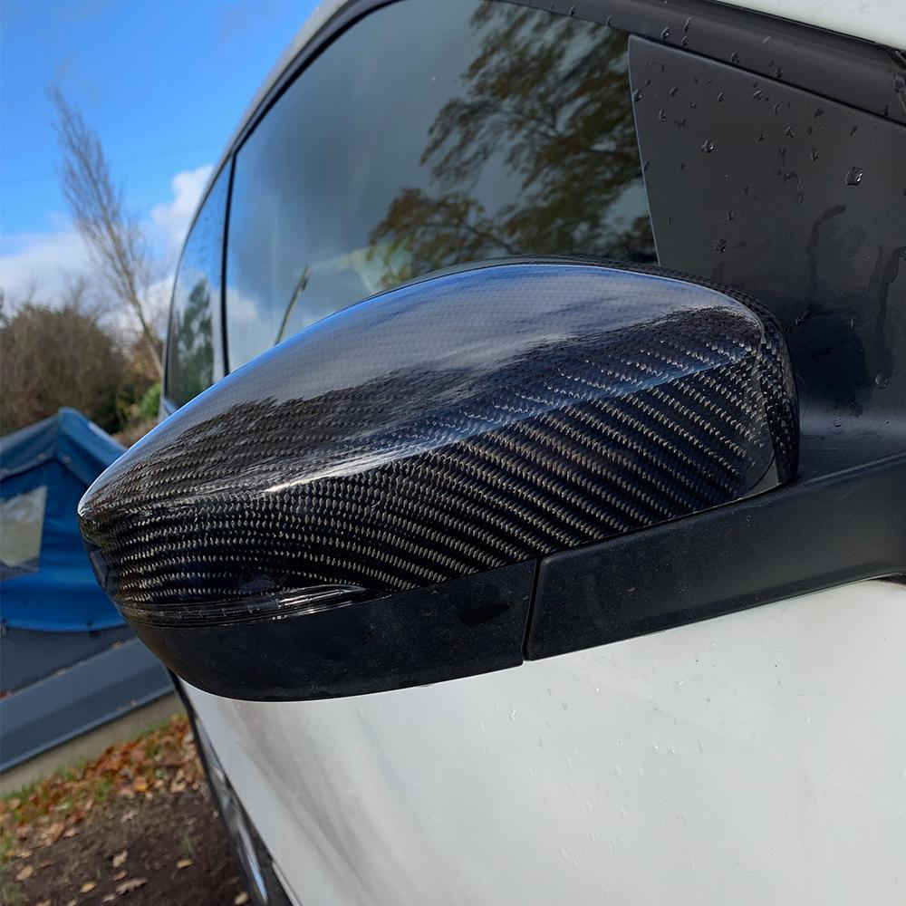 VW Polo MK5 Carbon Mirror Covers