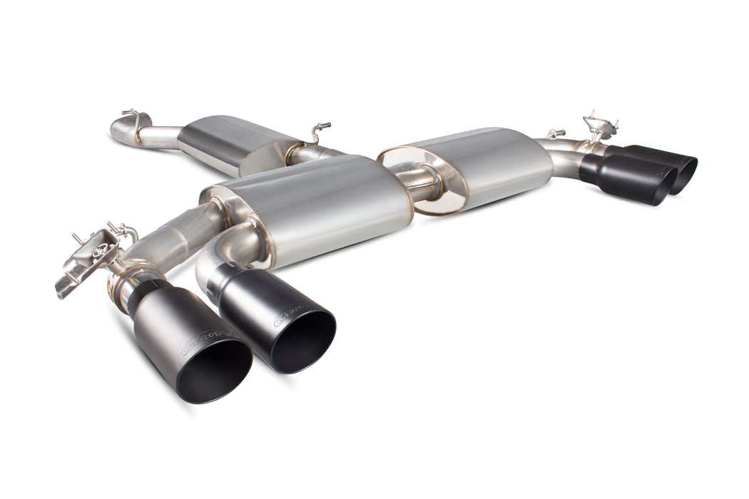 Scorpion Cat Back Exhaust System - Audi S3 (8V) Saloon