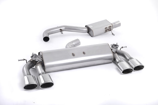 Milltek Valved Cat-Back Exhaust for VW Golf R MK7 (2012-2017)