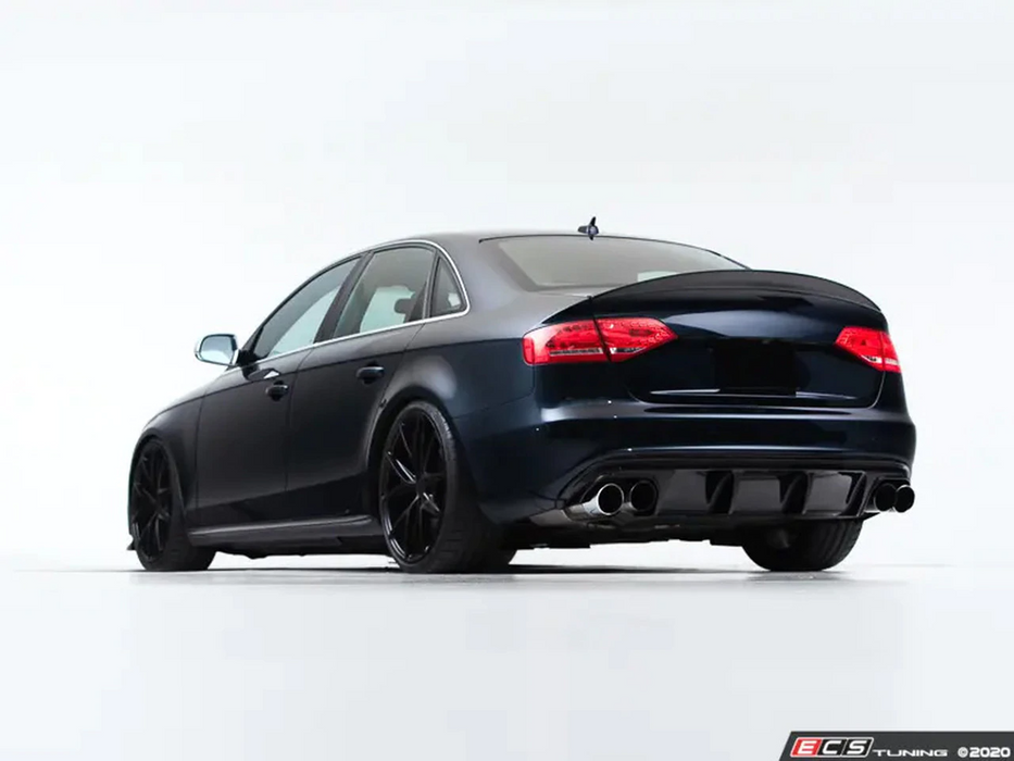 ECS Tuning Gloss Black Rear Diffuser - S4 B8
