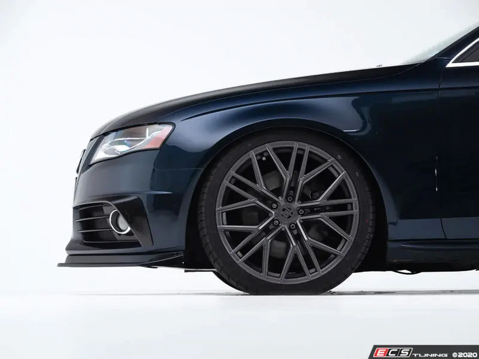 ECS Tuning Gloss Black Front Splitter - A4/S4 B8