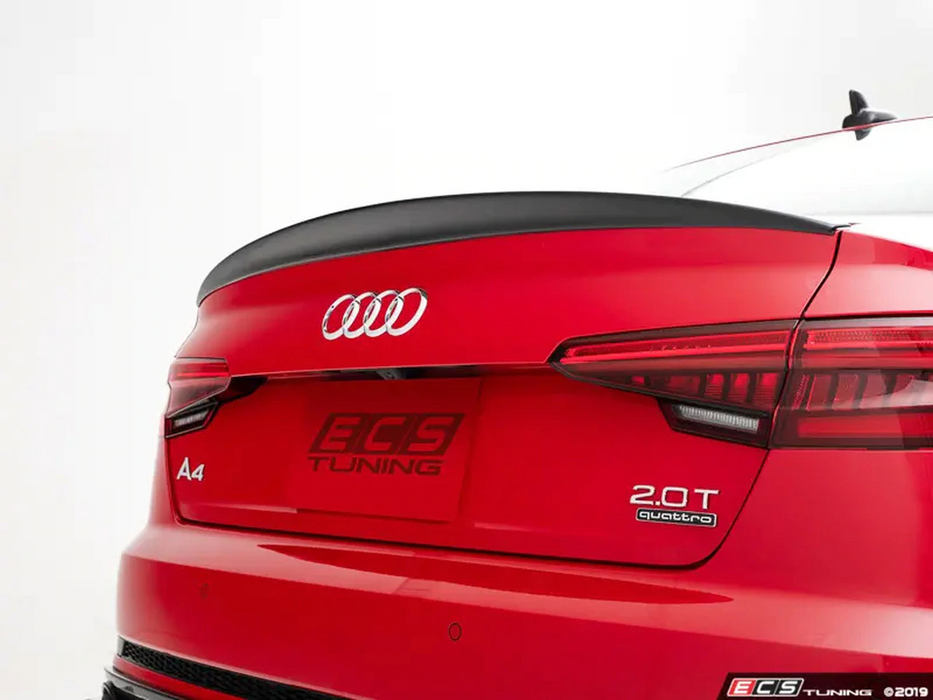ECS Tuning Gloss Black Rear Spoiler - A4/S4 B9