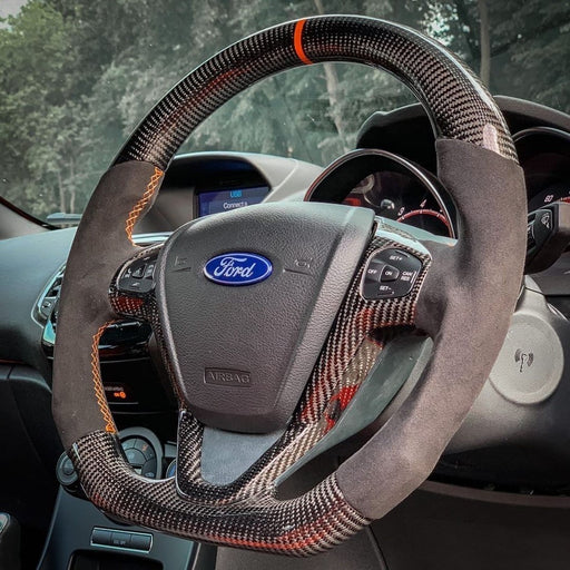 Ford Custom Carbon Fibre Steering Wheel