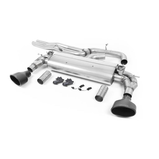 Milltek Sport - Audi RS3 SALOON / SEDAN 400PS (8V MQB) - NON-OPF/GPF MODELS Cat-Back Exhaust