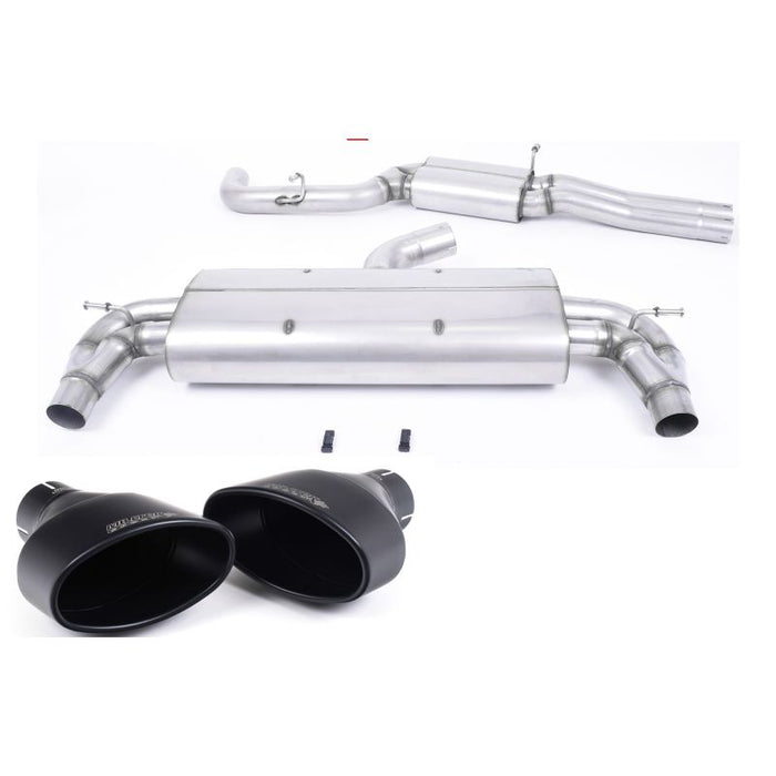Milltek Sport - Audi RS3 SPORTBACK (8V MQB - Pre Facelift Only) Cat-back Exhaust