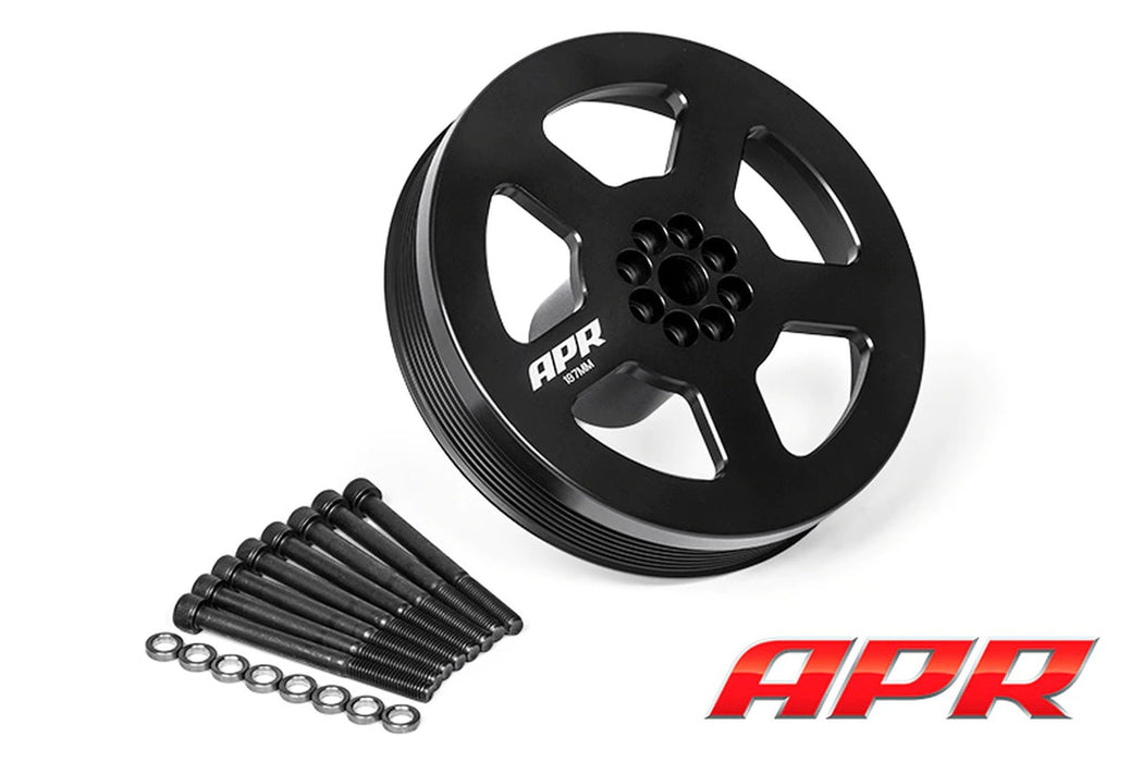 APR Supercharger Drive Pulley - 3.0TFSI (Press on Type)