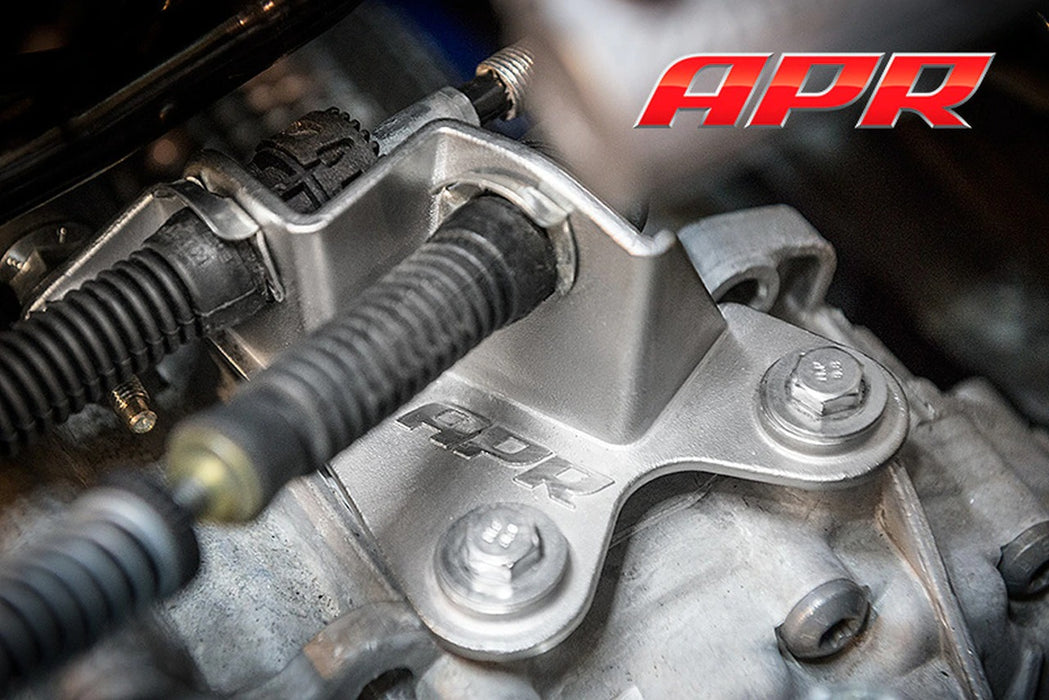 APR Solid Shifter Cable Bracket - 6 Speed Manual Transmission