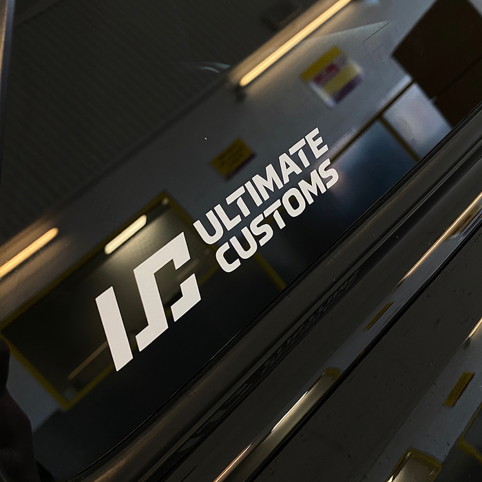 Ultimate Customs: Official Stickers
