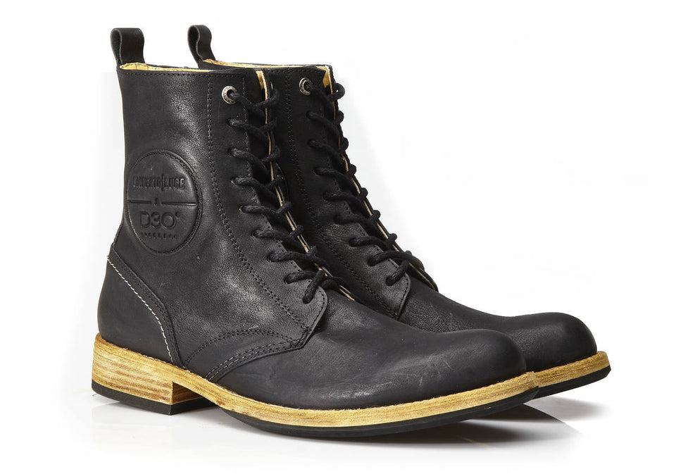 Leno Motorcycle Boots By Umberto Luce