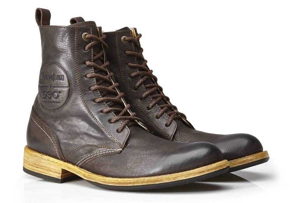 Usher Motorcycle Boots By Umberto Luce