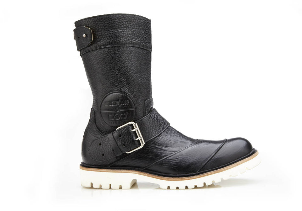 Gable Motorcycle Boots By Umberto Luce