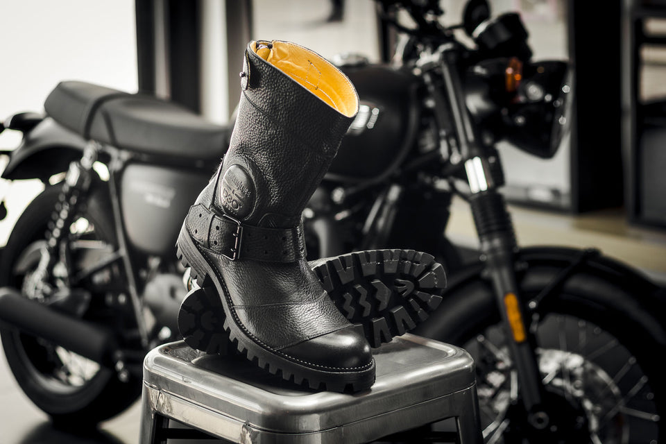 Mcgregor Motorcycle Boots By Umberto Luce