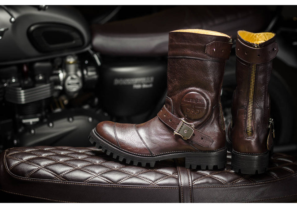 Reeves Motorcycle Boots By Umberto Luce