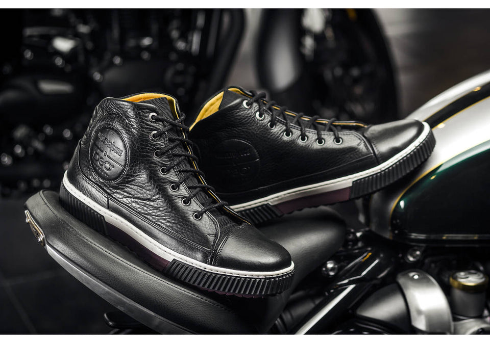 Bonhan Motorcycle Sneakers By Umberto Luce