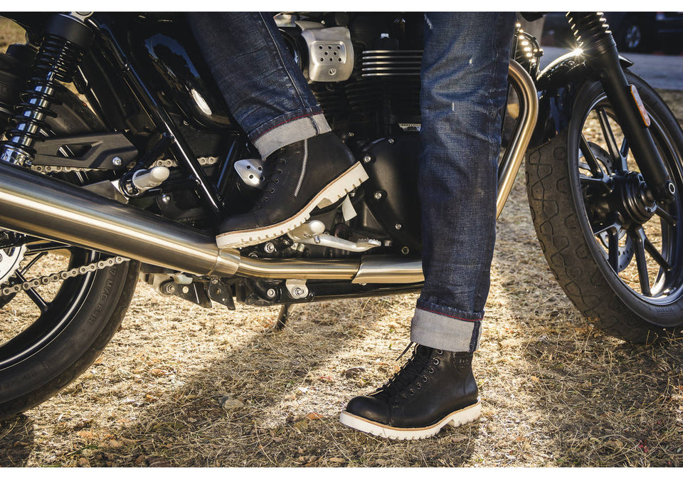 Clooney Motorcycle Boots By Umberto Luce