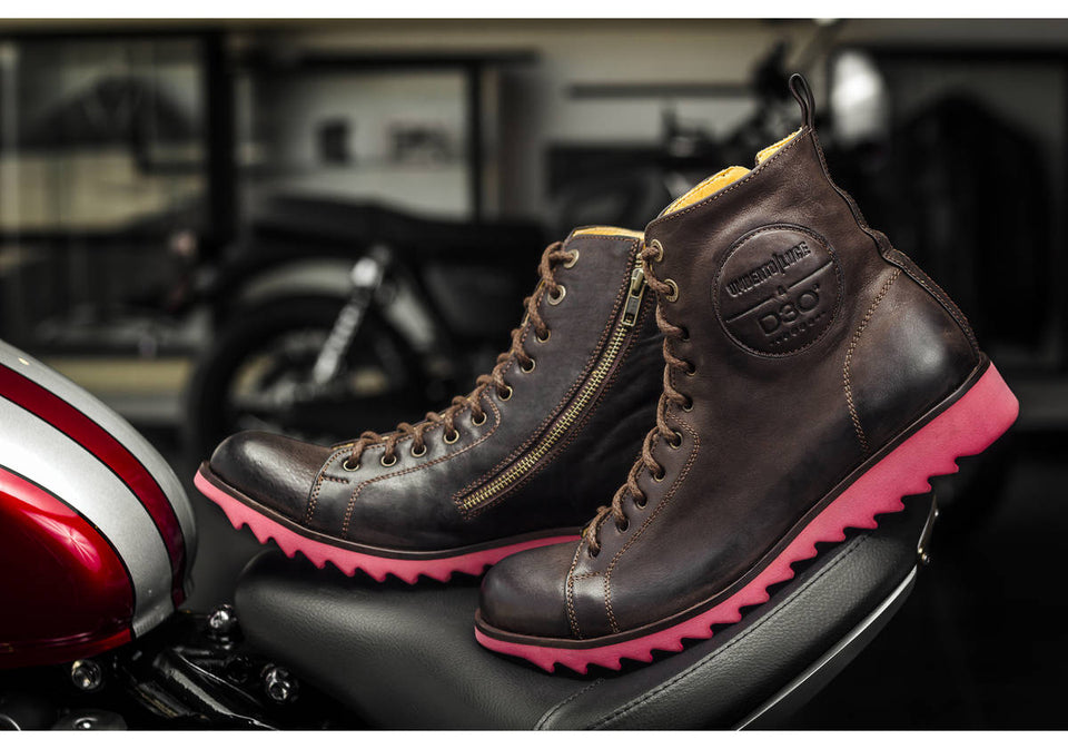 Dean Motorcycle Boots By Umberto Luce