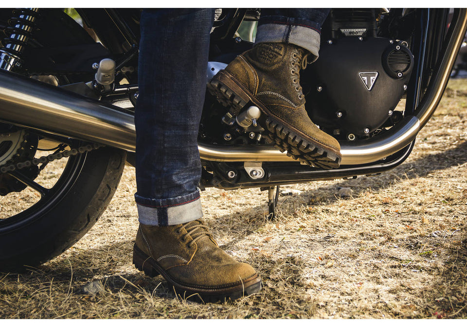 Brando Motorcycle Boots By Umberto Luce