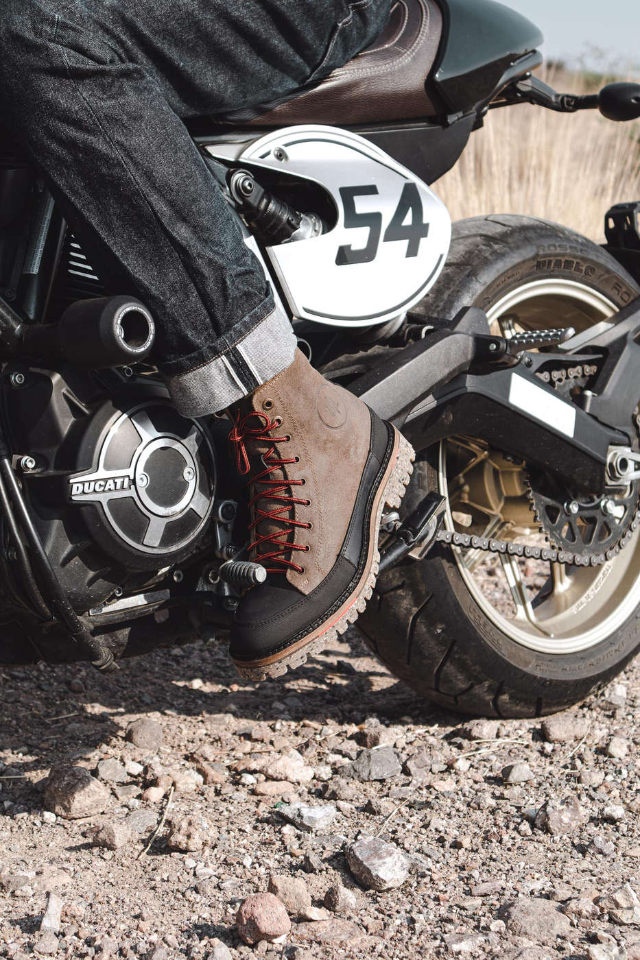 Booker Motorcycle Boots