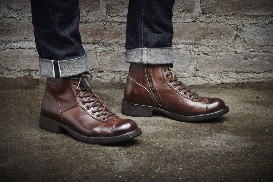 Eastwood Motorcycle BootsLeather - Umberto Luce