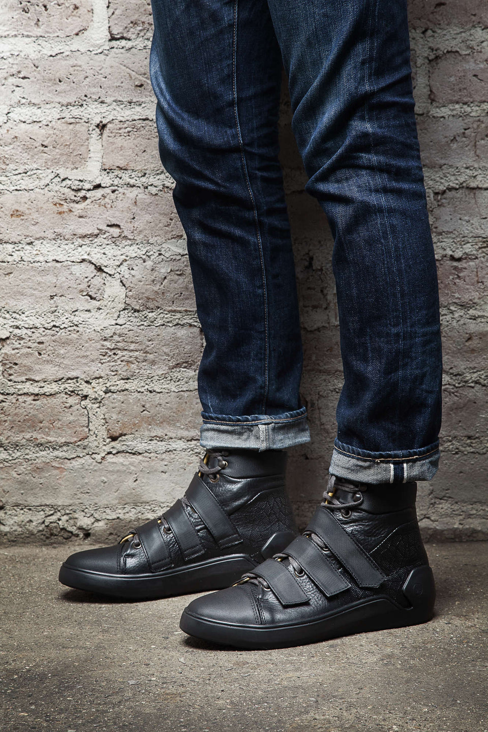Gilbert Motorcycle Sneakers By Umberto Luce