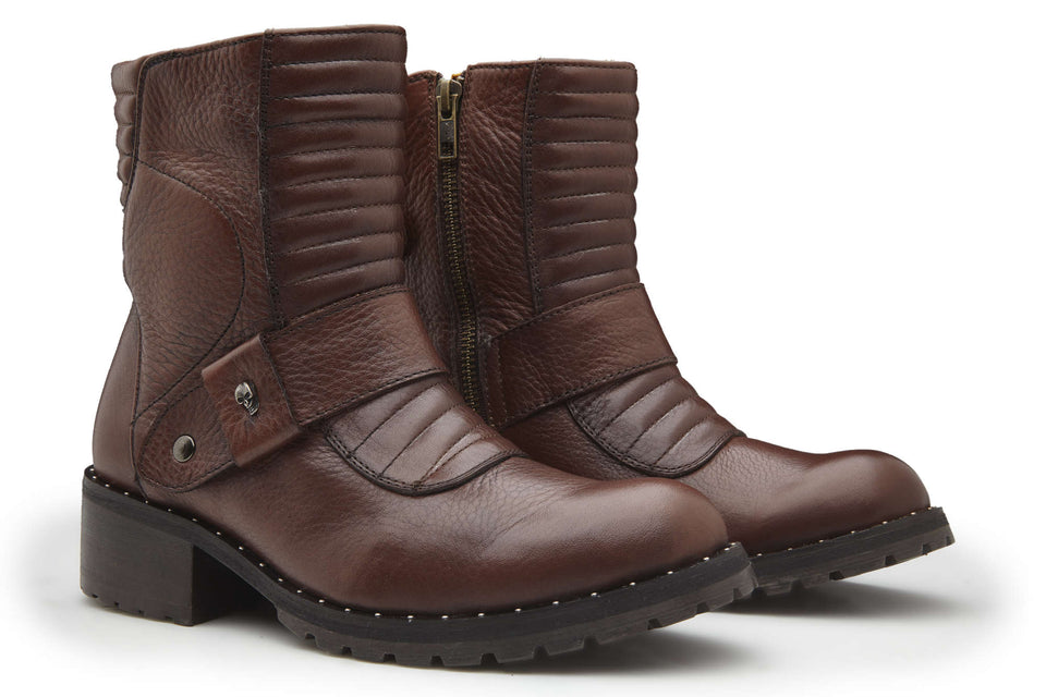 Hanna Women Motorcycle Boots By Umberto Luce