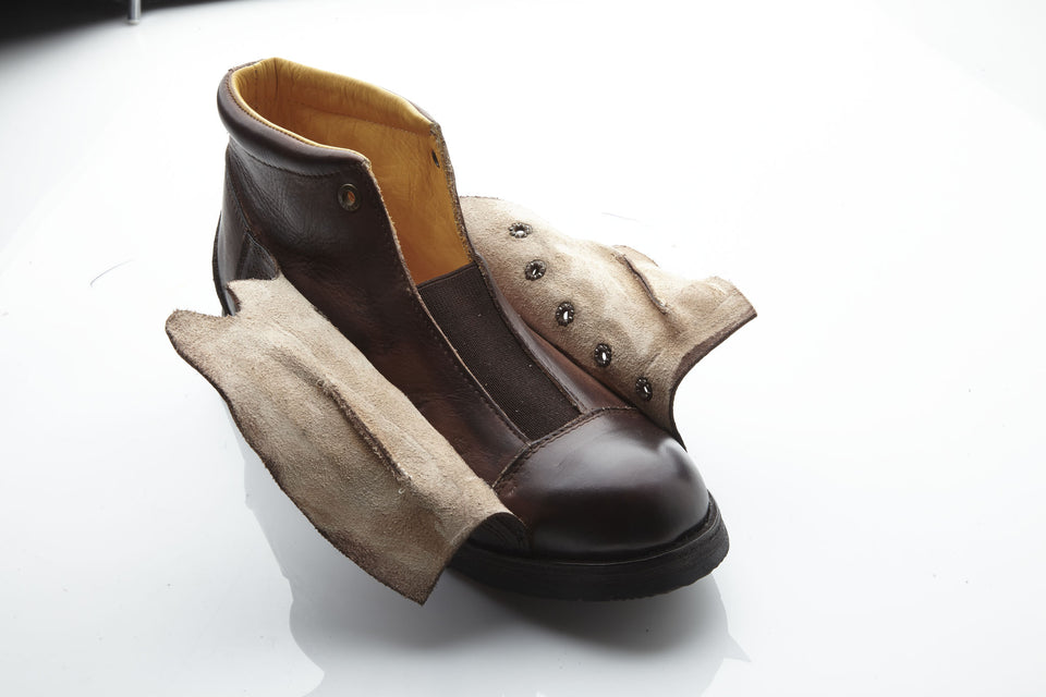 Hogs Ankle BootsLeather - Umberto Luce